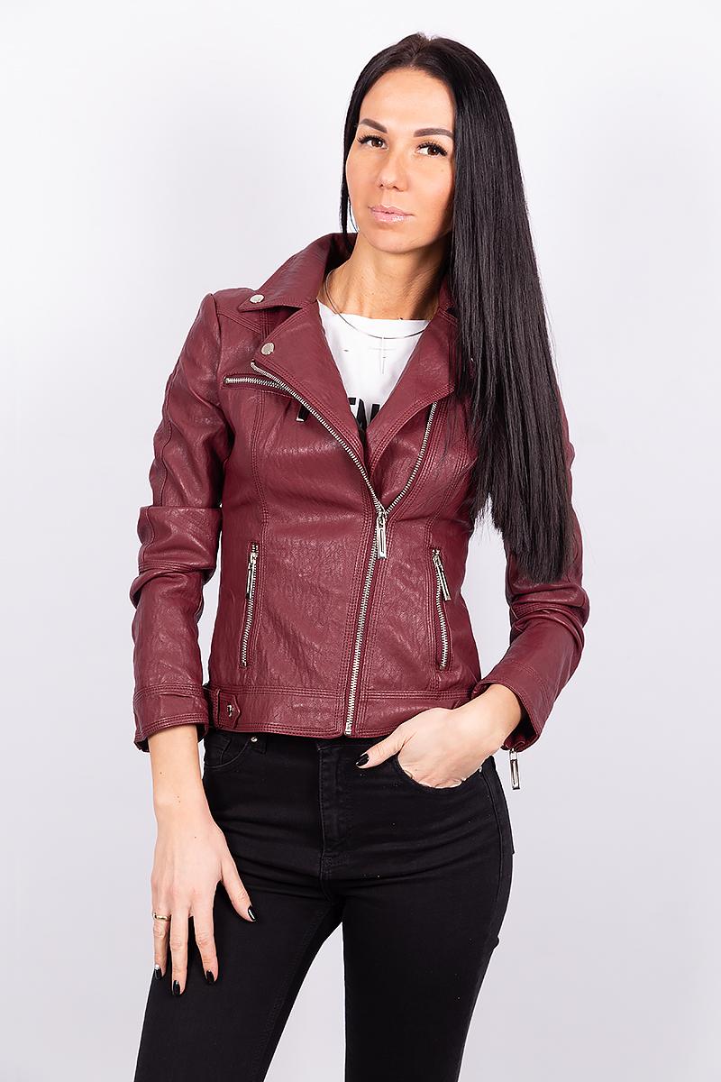 Женская куртка из экокожи 2867