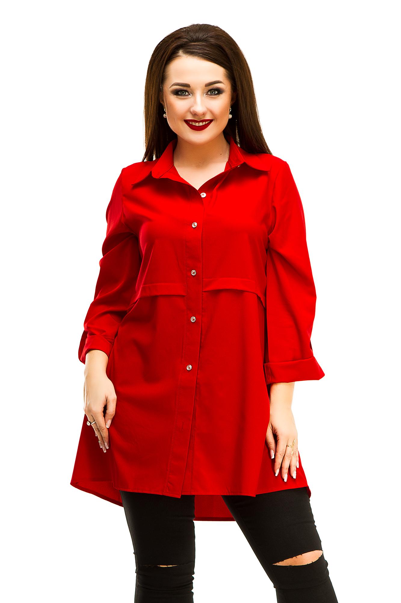 Женская рубашка-туника 5045