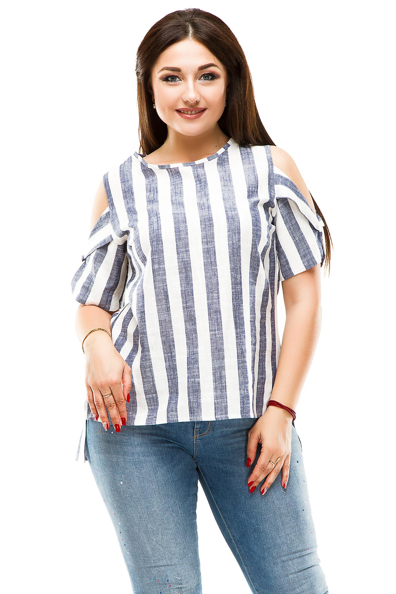 Женская блуза батал 5075