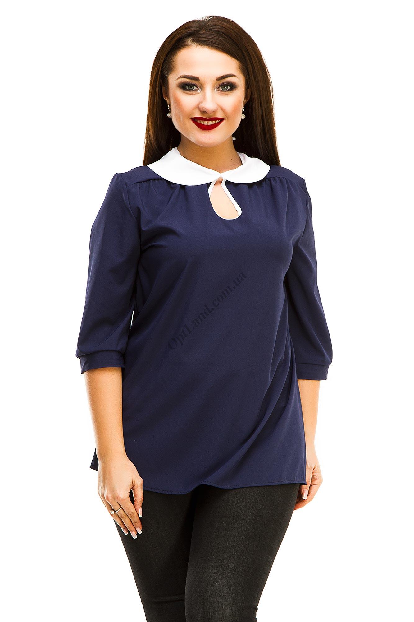 Женская блуза батал 5043