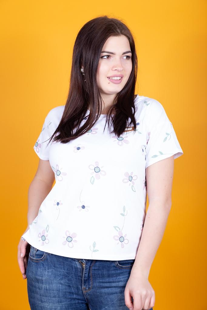 Женские футболки баталы по ценам от производителя