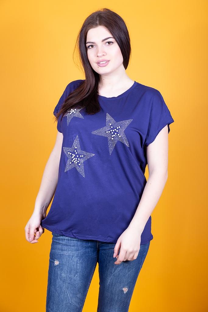 """Женская футболка """"звезды"""""""