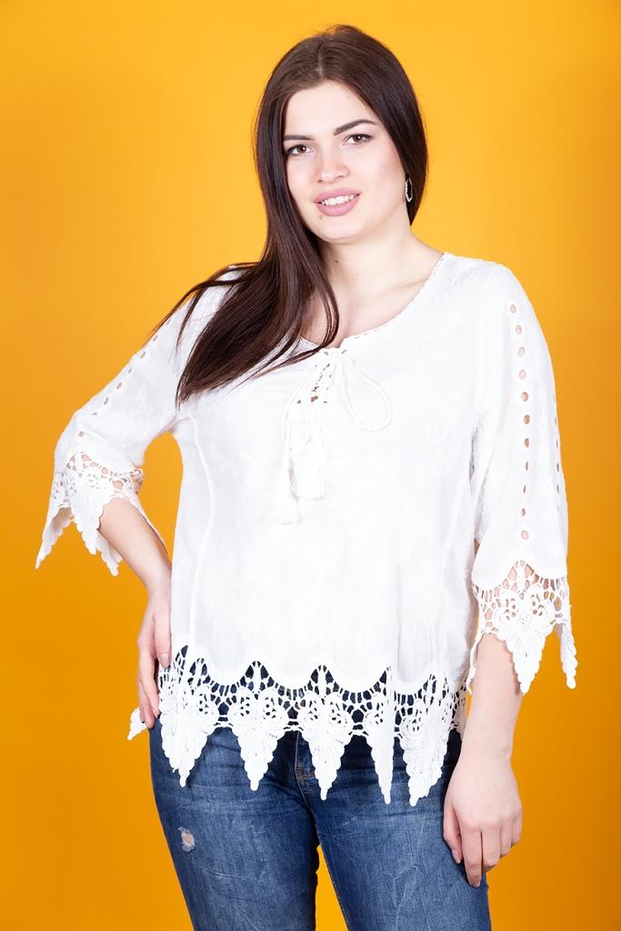 Кружевная блуза 295