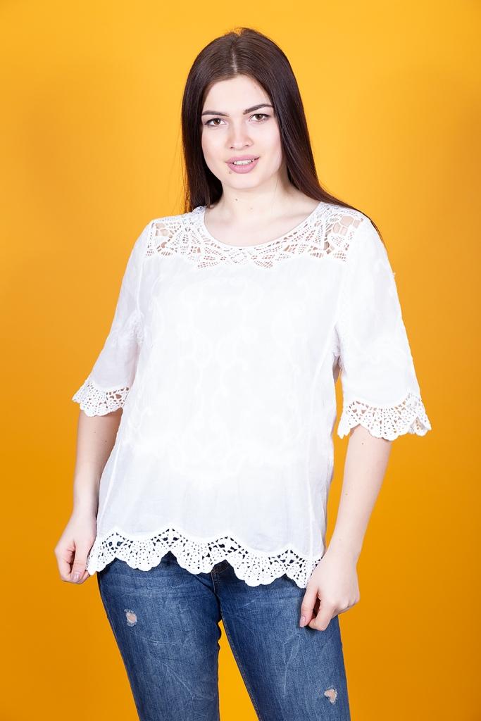 Кружевная блуза 296
