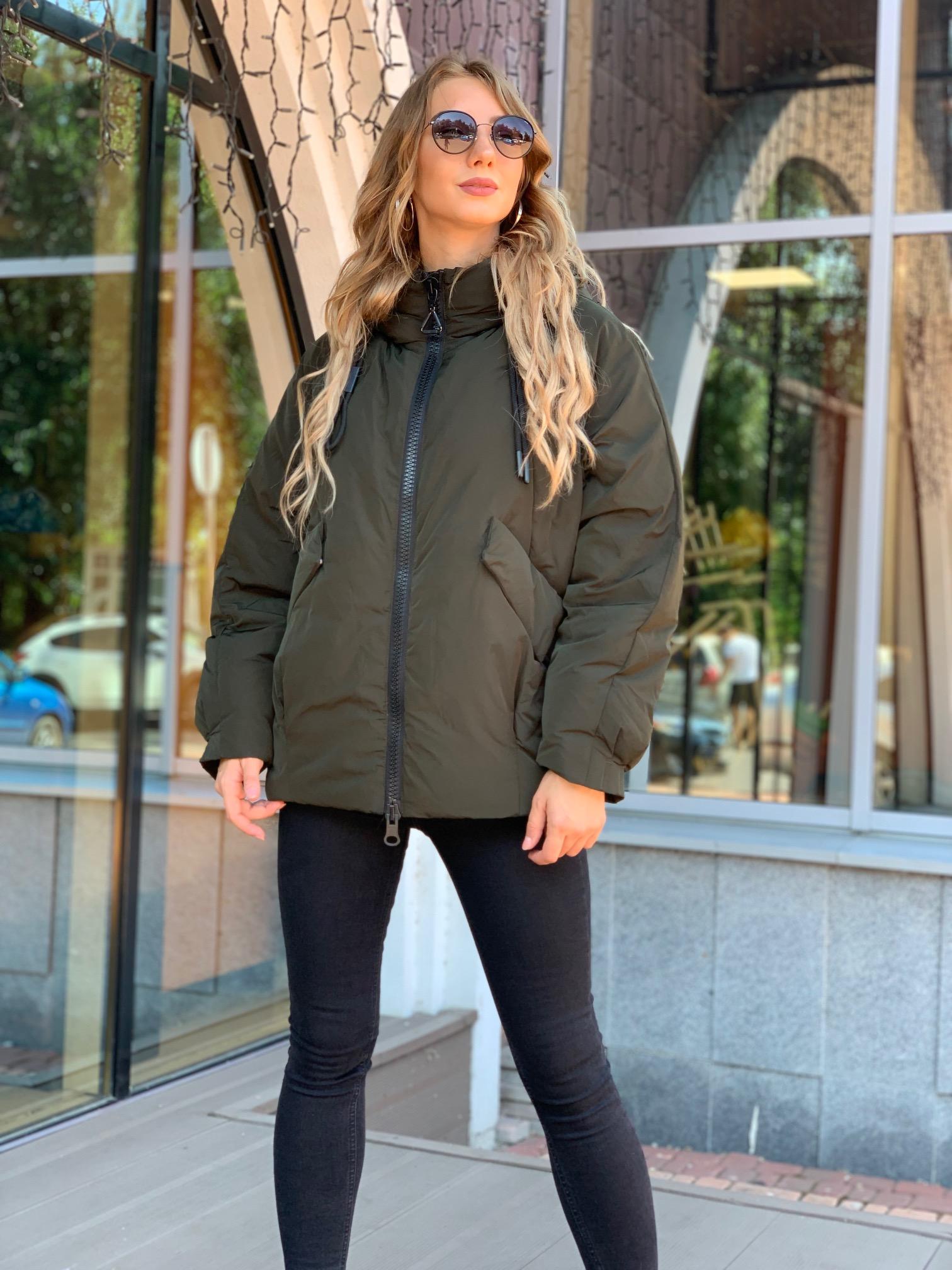 Зимняя куртка oversize Hailuozi 6150