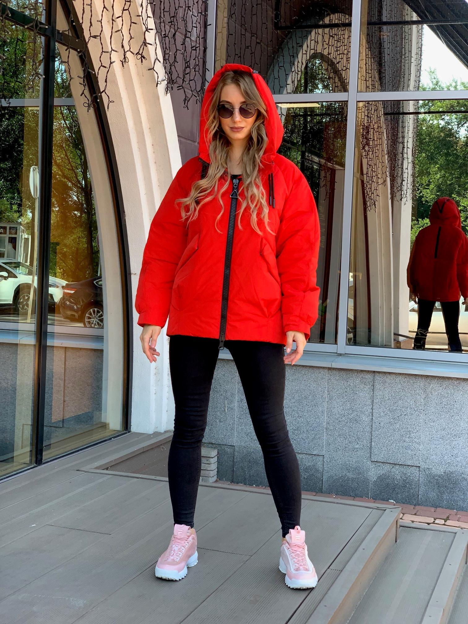 Зимняя куртка oversize Hailuozi