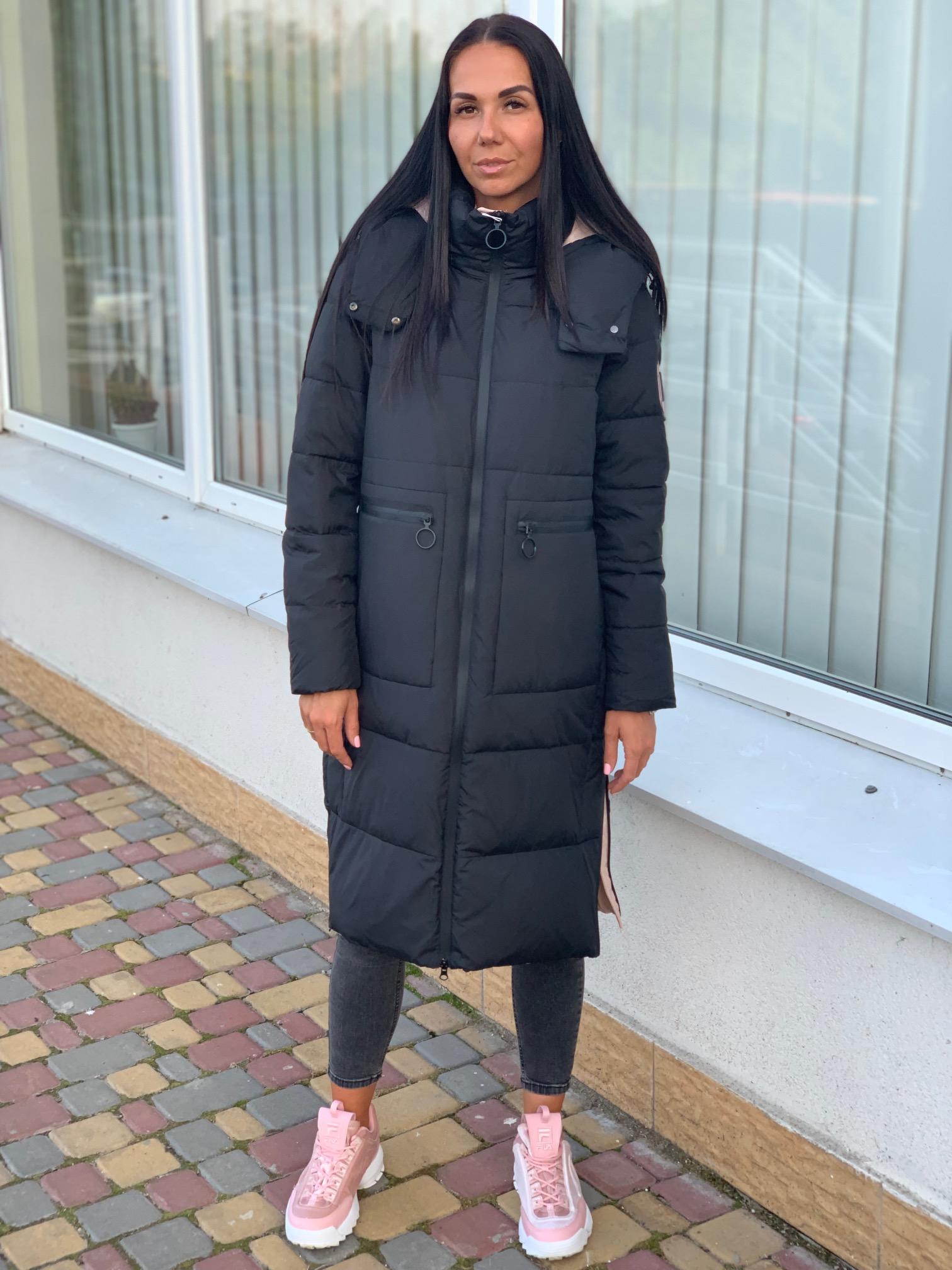 Длинная зимняя куртка oversize Towmy 2239